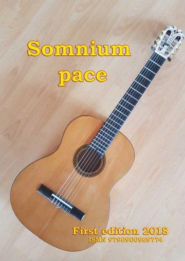 Somnium Pace for guitar